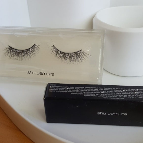 Shu Uemura Makeup New Set Of Eyelashes And Glue Poshmark
